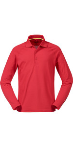 Musto Evolution Sunblock Polo Top Met Lange Mouwen True Red Se0254