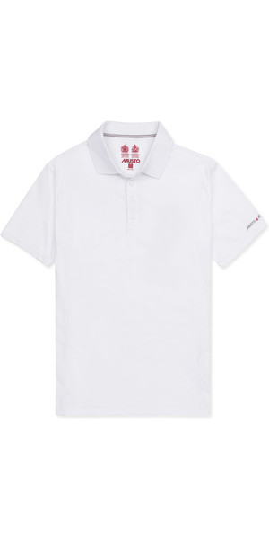 2019 Musto Mens Evolution Sunblock Polo Bianco EMPS012