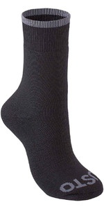2019 Musto Evolution Thermal Short Socks SCHWARZ AE0300