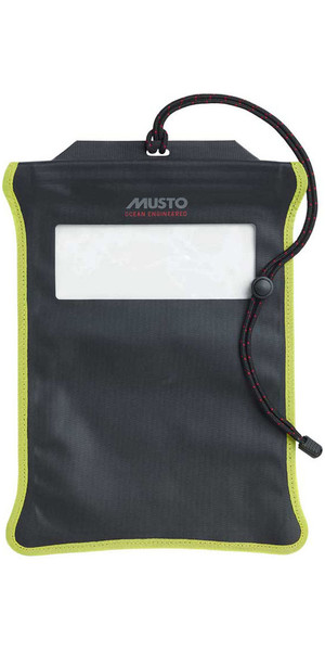 2019 Custodia impermeabile per tablet Musto Evolution nera AE0700
