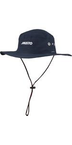 Musto Snel Dry Hoed Met Rand Navy 80033