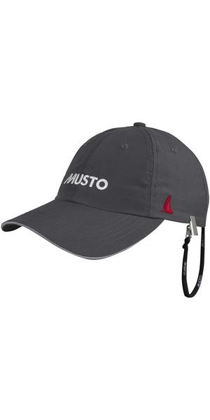 2018 Musto Crew Cap Dry Charcoal AL1390