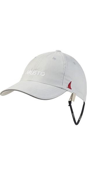 2019 Musto Fast Dry Crew Cap Platino AL1390