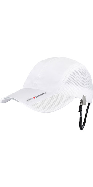 2019 Musto Fast Dry Technical Cap Weiß AUHD005