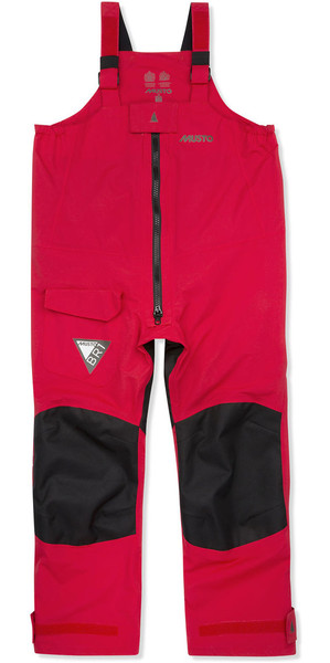 2019 Musto JUNIOR BR1 Pantalones True Red / Black KS117J2