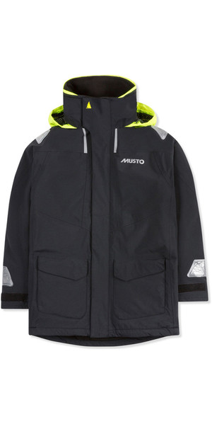 2018 Musto Junior BR1 Coastal Sailing Jacket Black SKJK004