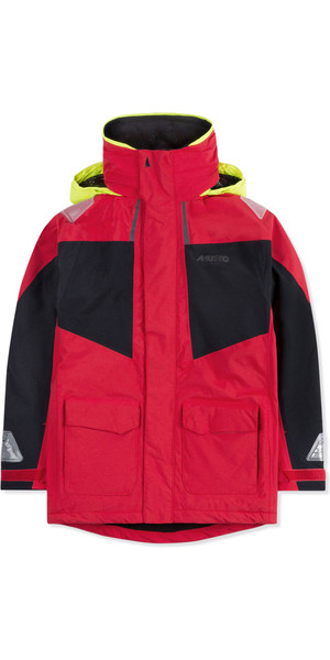 2018 Musto Junior BR1 Coastal Sailing Jacket True Red SKJK004