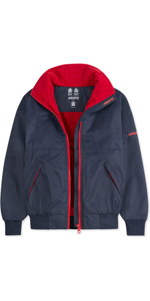 2018 Musto Junior Snug Blouson Jacket True Navy / Red KL30032