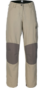 Musto Womens Evolution Performance Sailing Trousers Light Stone - Long Leg (84cm) SE0920