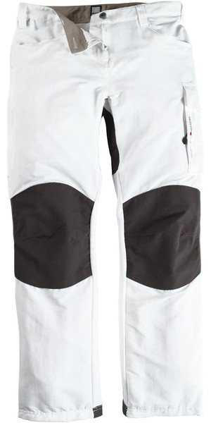 Musto Womens Evolution Performance Sailing Trousers WHITE - Regular Leg (79cm) SE0920
