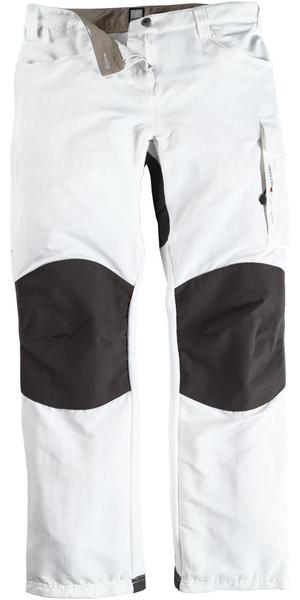 Musto Damen Evolution Performance Segelhose WEISS - Langes Bein (84cm) SE0920
