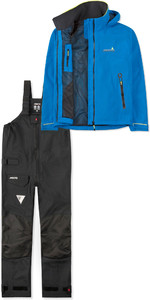 2019 Musto Mens BR1 Inshore Jacket SMJK056 & Trouser SMTR043 Combi Set Blue / Black