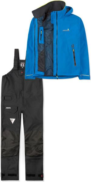 2019 Musto BR1 damesjack SMJK056 & broek SMTR043 combiset blauw / zwart