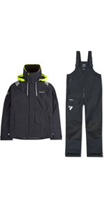 2019 Musto Mens BR2 Coastal Jacket & Trouser Combi Set - Black