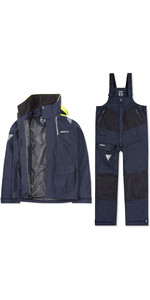 2019 Musto Mens BR2 Coastal Jacket & Trouser Combi Set - Navy