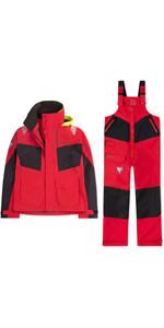 Conjunto Combinado De Chaqueta Y Pantalón Coastal Br2 2020 Musto Hombre - Rojo
