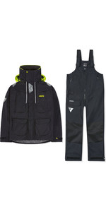 2019 Musto Mens BR2 Offshore Jacket & Trouser Combi Set - Black