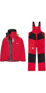 Conjunto Combinado De Chaqueta Y Pantalón Offshore Br2 2020 Musto Hombre - Rojo