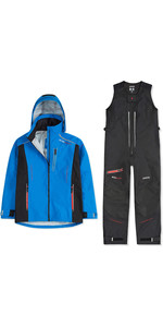 2020 Musto Mens BR2 Sport Jacket & Salopettes Combi Set - Blue / Black