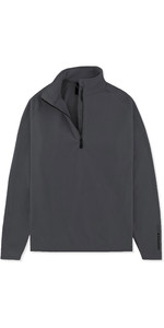 2019 Musto Men Crew 1/2 Zip Microfleece Charcoal Emfl028