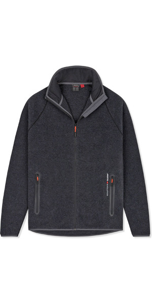 2019 Musto Mens Essential Polartec Fleecejack Charcoal EMFL031