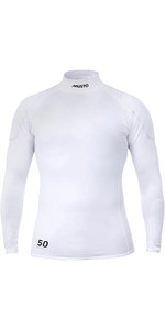 2020 Musto Mens Foiling Sunblock Impact Top White SMTS014