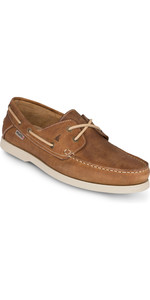 2019 Musto Mens Harbour Moccasin Shoes Tan FMFT008