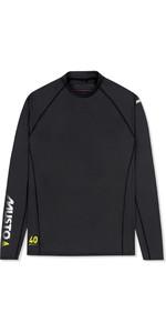 2020 Musto Men Insignia Uv Camiseta De Manga Larga De Dry Rápido Negro Suts010