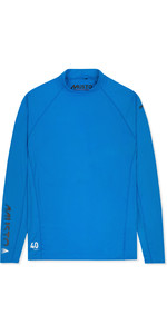 2020 Musto Mens Insignia UV Fast Dry Long Sleeve T-Shirt Brilliant Blue SUTS010