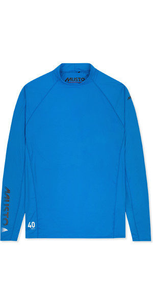 2019 Musto Mens Insignia UV Fast Dry Long Sleeve T-Shirt Brilliant Blue SUTS010