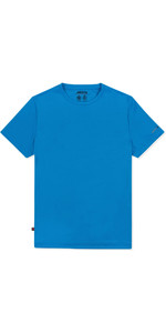 2019 Musto Mens Sunshield Permanente Wicking UPF30 T-shirt Azul Brilhante EMTS029