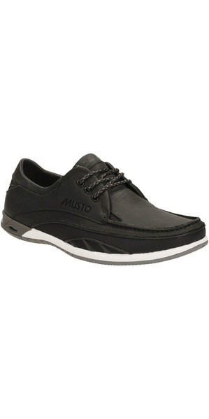 Musto Orson Drift Shoe BLACK LEATHER FS0190/FS0200