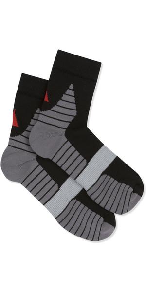 2019 Musto Polygiene Sneaker Socke schwarz AUSO001