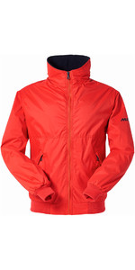 Musto Snug Blouson Jacket in True Red / Navy MJ11009