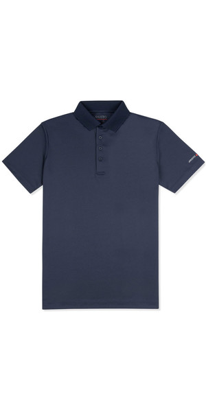 2019 Musto Mens Scaldamuscoli Permanent Wicking UPF30 Polo Navy EMPS019