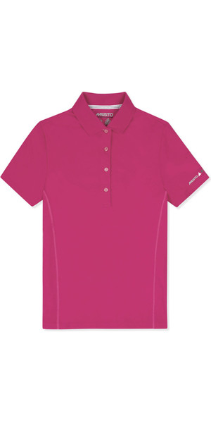 2019 Musto Dame Evolution Sunblock Polo Magenta EWPS006 VARERHUS 2ND
