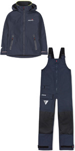 2019 Musto Donna Br1 Inshore Swjk016 E Pantaloni Swtr011 Set Combinato Navy