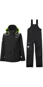 2020 Musto Womens BR1 Inshore Sailing Jacket & BR2 Offshore Trouser Combi Set - Black