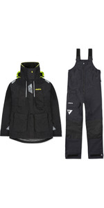 2020 Musto Womens BR2 Offshore Jacket & Trouser Combi Set - Black