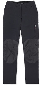 2019 Musto Women Evolution Performance Calça De Veleiro Preto - Perna Normal (86cm) Se0921