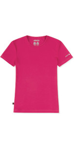 2019 Musto Womens SunShield Permanente Wicking T-shirt UPF30 Magenta EWTS018