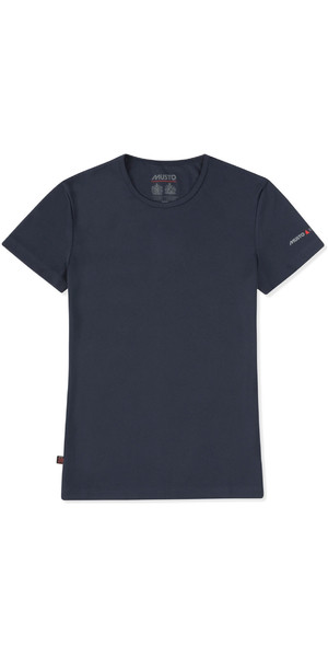 2019 Musto Womens SunShield Permanent Wicking UPF30 T-Shiort True Navy EWTS018