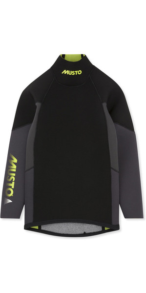 2019 Musto Ungdomsmesterskab Thermohot Neoprene Top Sort SKTS009