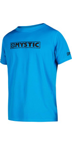 2021 Mystic Men's Star Quick Dry Short Sleeve Top STQD - Blå