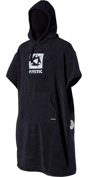 Mystic DELUXE Poncho / Change Robe in Black car seat protection 140180