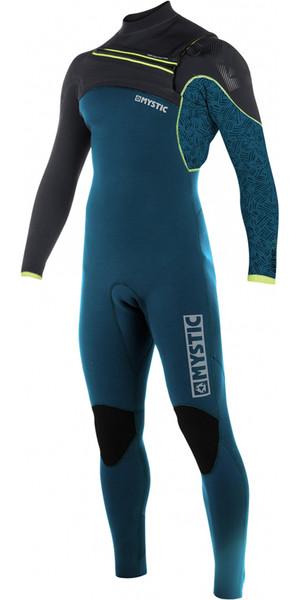 2018 Mystic Drip 5/4mm Front Zip Wetsuit TEAL 180010
