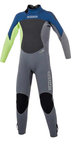 2019 Mystic Toddler Star 3/2mm Back Zip Wetsuit Navy 180061