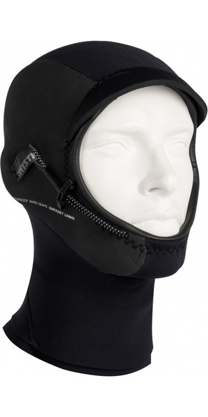 2018 Mystic Legend 3mm Neoprene Hood BLACK 180037