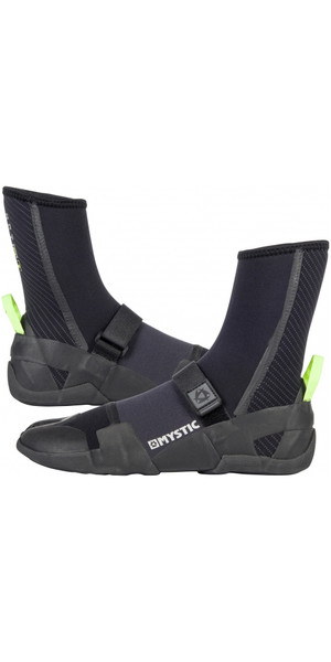 2018 Mystic Lightning fendue Toe Boot 5mm NOIR 180040