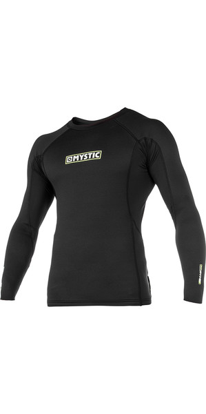2018 Mystic MVMNT 1.5mm Neoprene Long Sleeve Top Black 180131